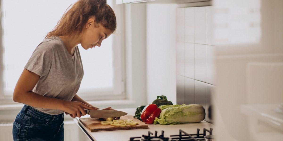 Sportive fait la cuisine